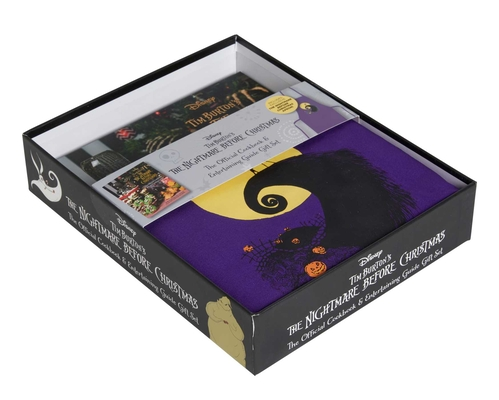 The Nightmare Before Christmas: The Official Cookbook & Entertaining Guide Gift Set Cover Image