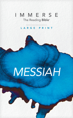 Immerse: Messiah, Large Print (Softcover) Cover Image