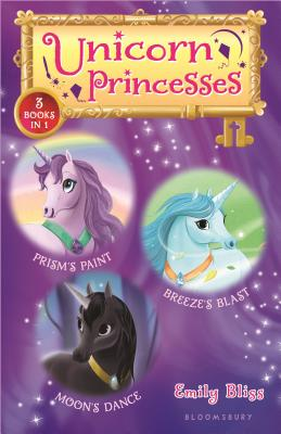 Unicorn Princesses Bind-up Books 4-6: Prism's Paint, Breeze's Blast, and Moon's Dance Cover Image