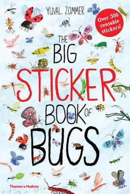 The Big Sticker Book of Bugs (The Big Book Series) Cover Image