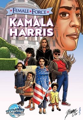 Female Force: Kamala Harris Cover Image