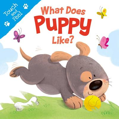What Does Puppy Like?: Touch & Feel Board Book Cover Image