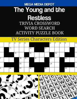The Young and the Restless Trivia Crossword Word Search Activity Puzzle Book: TV Series Characters Edition Cover Image