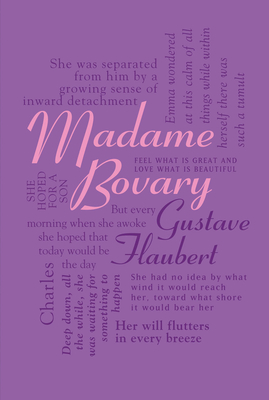 Madame Bovary (Word Cloud Classics) Cover Image