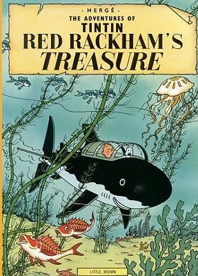 Red Rackham's Treasure (The Adventures of Tintin: Original Classic) Cover Image