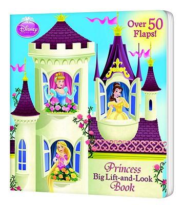Princess Big Lift-and-Look Book (Disney Princess) Cover Image