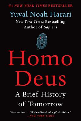 Homo Deus: A Brief History of Tomorrow Cover Image
