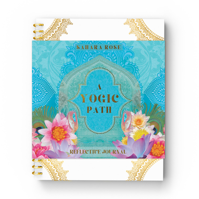 A Yogic Path Reflective Journal Cover Image