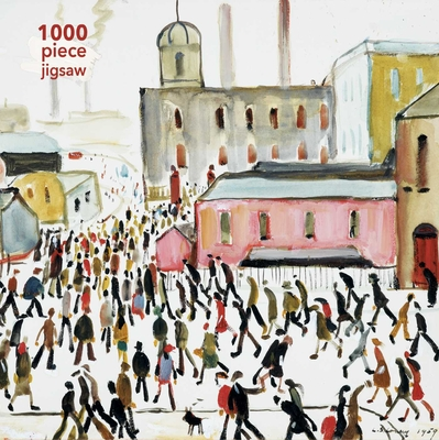 Adult Jigsaw Puzzle L.S. Lowry: Going to Work: 1000-Piece Jigsaw Puzzles Cover Image