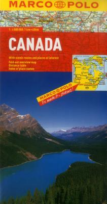 Canada Marco Polo Map (Marco Polo Maps) Cover Image