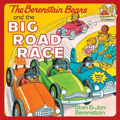 The Berenstain Bears and the Big Road Race Cover