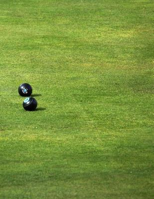 Lawn Bowls Notebook Cover Image
