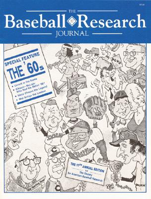 The Baseball Research Journal (BRJ), Volume 17 Cover Image