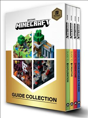 Minecraft: Guide Collection 4-Book Boxed Set: Exploration; Creative; Redstone; The Nether & the End Cover Image