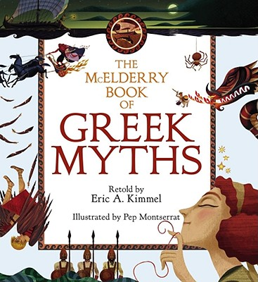 The McElderry Book of Greek Myths Cover Image