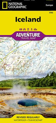 Iceland (National Geographic Adventure Map #3302) Cover Image