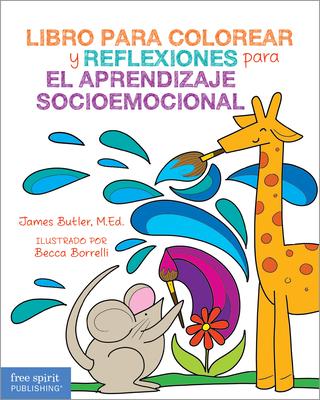 Libro para colorear y reflexiones para el aprendizaje socioemocional Cover Image