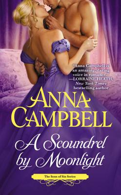 A Scoundrel by Moonlight Lib/E (Sons of Sin #4) Cover Image