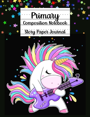 Primary Composition Notebook, Story Paper Journal Cover Image