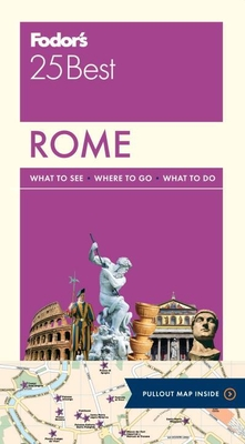 Fodor's Rome 25 Best Cover