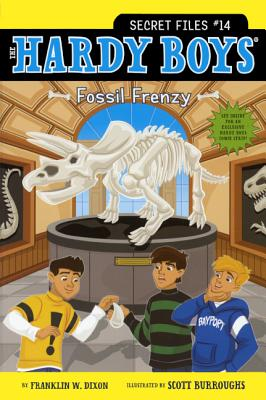 Fossil Frenzy (Hardy Boys: Secret Files #14) Cover Image