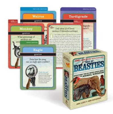 Box of Beasties: 100 Bewildering Trivia Flashcards Cover Image