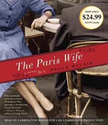 The Paris Wife: A Novel Cover Image