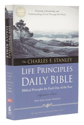 Charles F. Stanley Life Principles Daily Bible-NKJV Cover Image