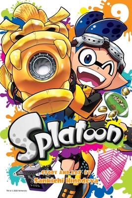 Splatoon, Vol. 9 Cover Image