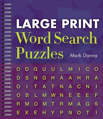 Large Print Word Search Puzzles Cover Image