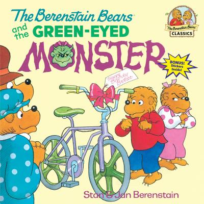 The Berenstain Bears and the Green-Eyed Monster Cover