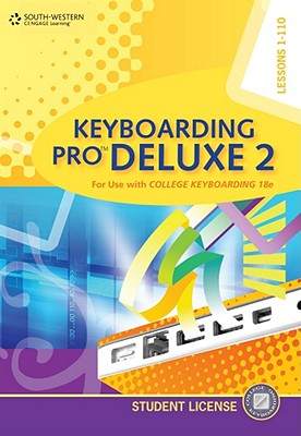 Keyboarding Pro Deluxe 2 Student License (with Individual License User Guide ) [With CDROM] Cover Image