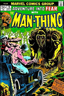 Essential Man-Thing: Volume 1 Cover Image