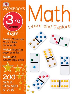 DK Workbooks: Math, Third Grade: Learn and Explore Cover Image