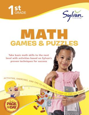 1st Grade Math Games & Puzzles Cover