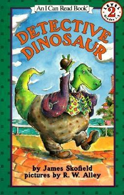 Detective Dinosaur (I Can Read Level 2) Cover Image
