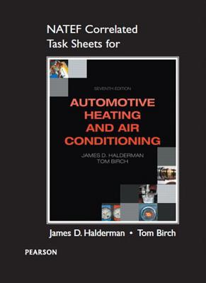 Natef Correlated Task Sheets for Automotive Heating and Air Conditioning Cover Image