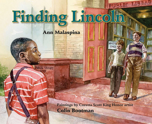 Finding Lincoln Cover
