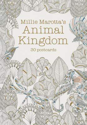 Millie Marotta's Animal Kingdom: 30 Postcards (Millie Marotta Adult Coloring Book #4) Cover Image