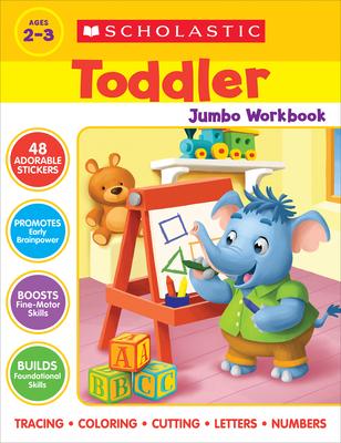 Scholastic Toddler Jumbo Workbook Cover Image