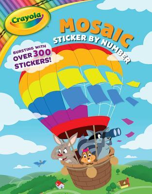 Crayola Mosaic Sticker by Number (Crayola/BuzzPop) Cover Image