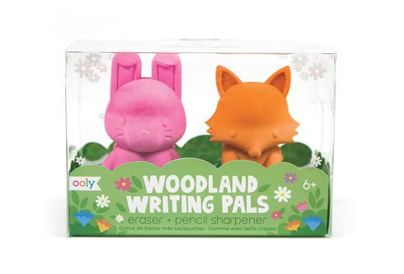 Spa; Frenawoodlands Writing Pals Eraser: Woodlands Writing Pals Eraser & Sharpener - Set of 2 Cover Image