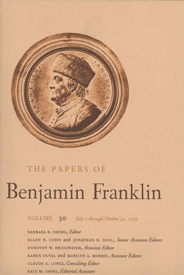Cover for The Papers of Benjamin Franklin, Vol. 30