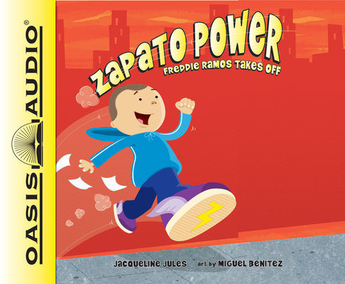 Freddie Ramos Takes Off (Library Edition) (Zapato Power #1) Cover Image
