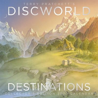 Terry Pratchett's Discworld Calendar 2020: Discworld Destinations Cover Image
