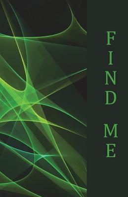 Find me: Internet Password Book, 5.5x8.5