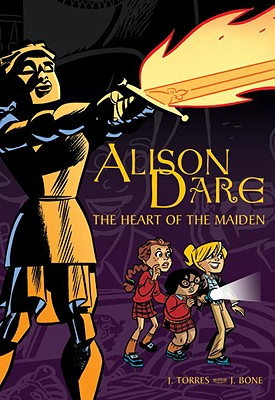 Alison Dare, the Heart of the Maiden Cover
