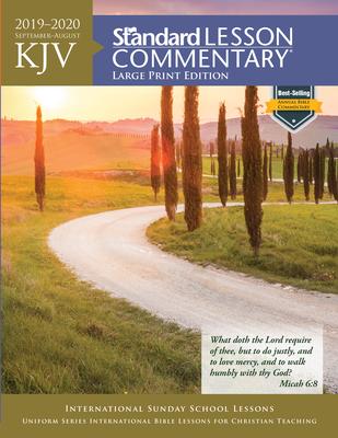 KJV Standard Lesson Commentary® Large Print Edition 2019-2020 Cover Image