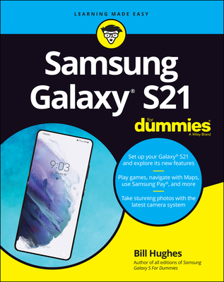 Samsung Galaxy S21 for Dummies Cover Image
