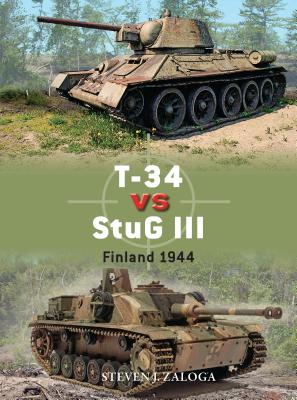 T-34 vs StuG III: Finland 1944 (Duel) Cover Image
